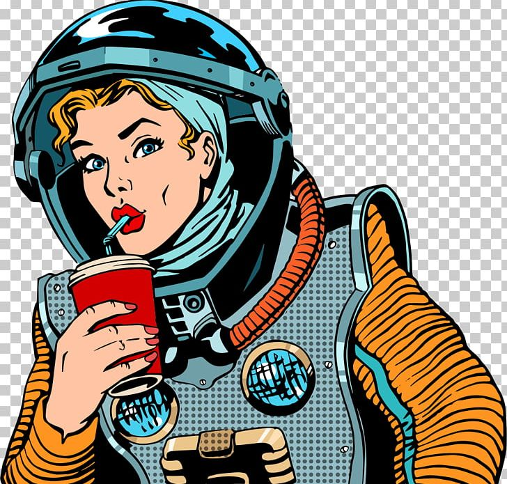 Drink Pop Art PNG, Clipart, Art, Astronaut, Astronauts.