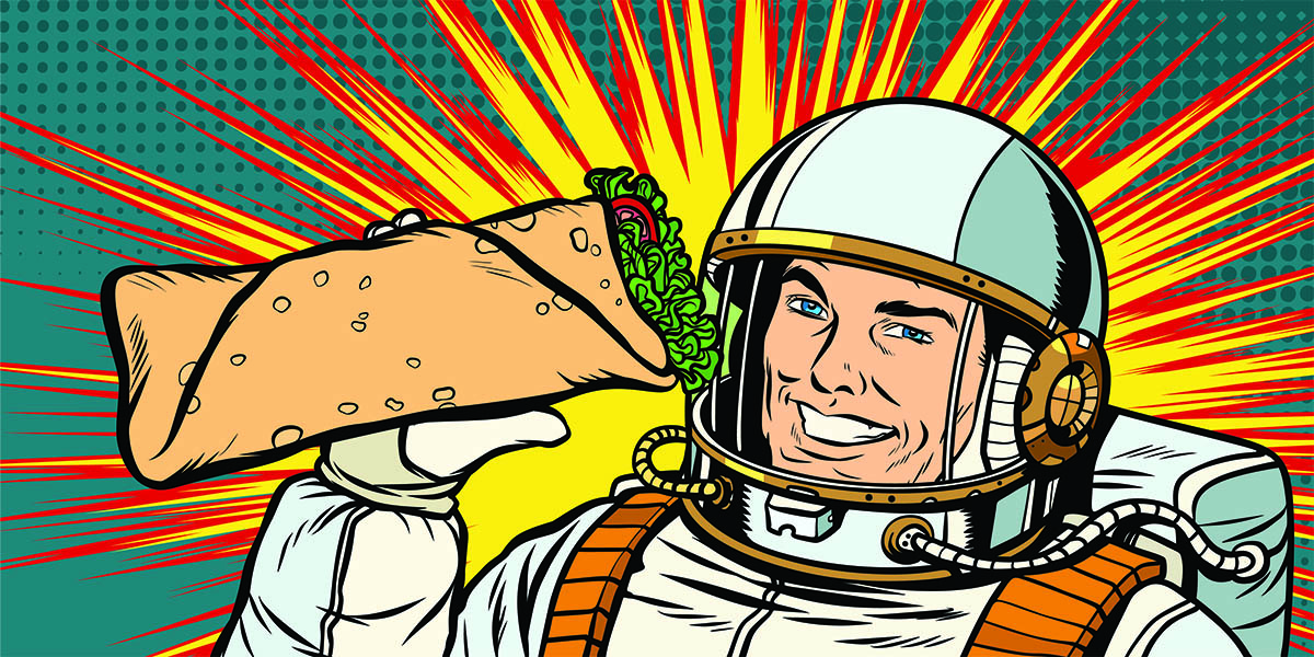 Here\'s a Look at What Astronauts Eat in Space.