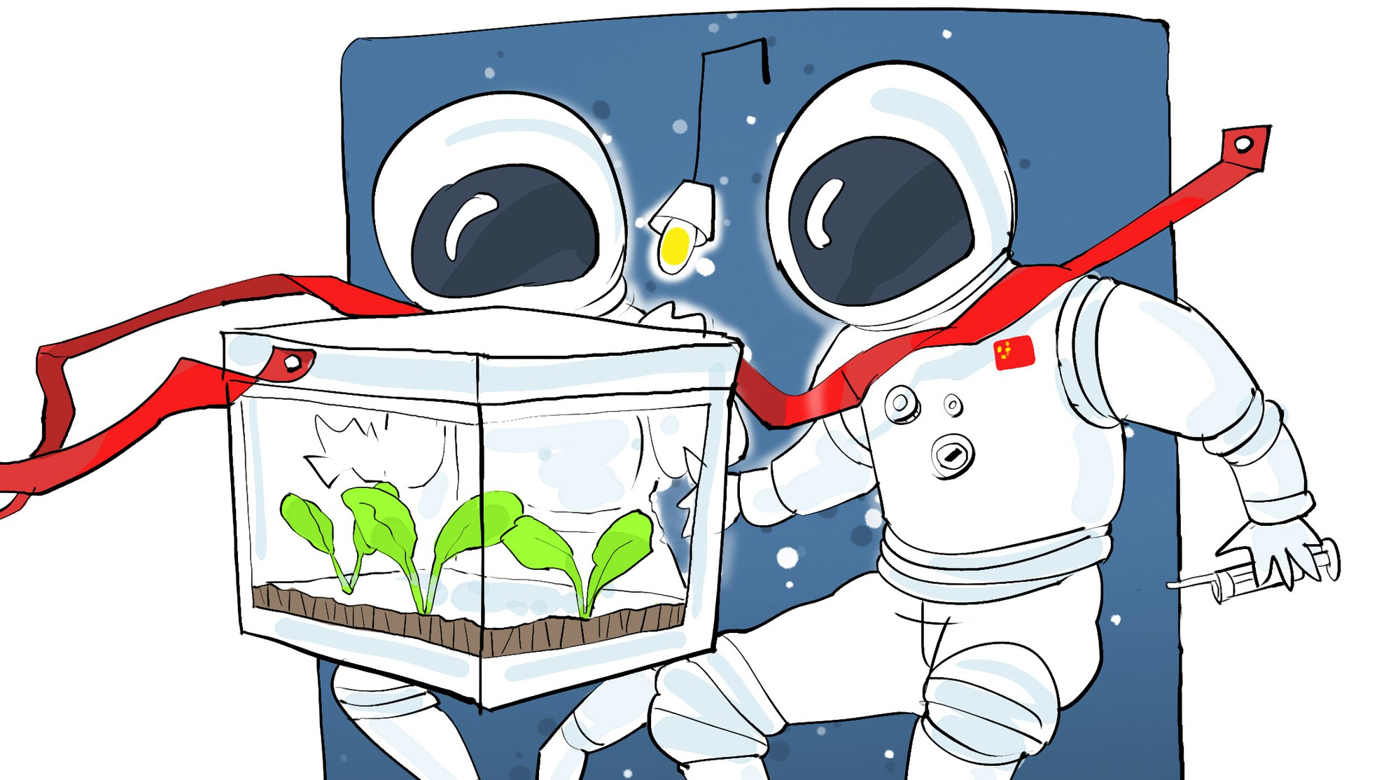 Space Journal: Chinese astronauts become farmers in space.