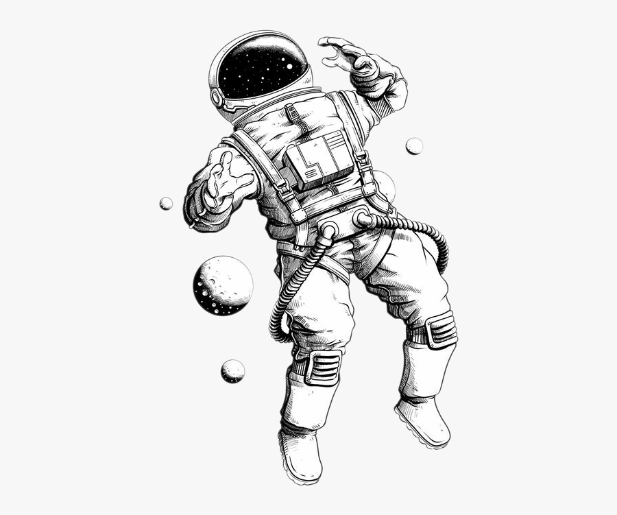 Picture Astronauts Astronaut Drawing Illustration Free.