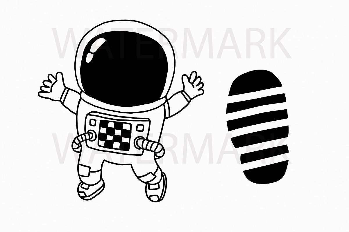Astronaut footprint clipart images gallery for Free Download.
