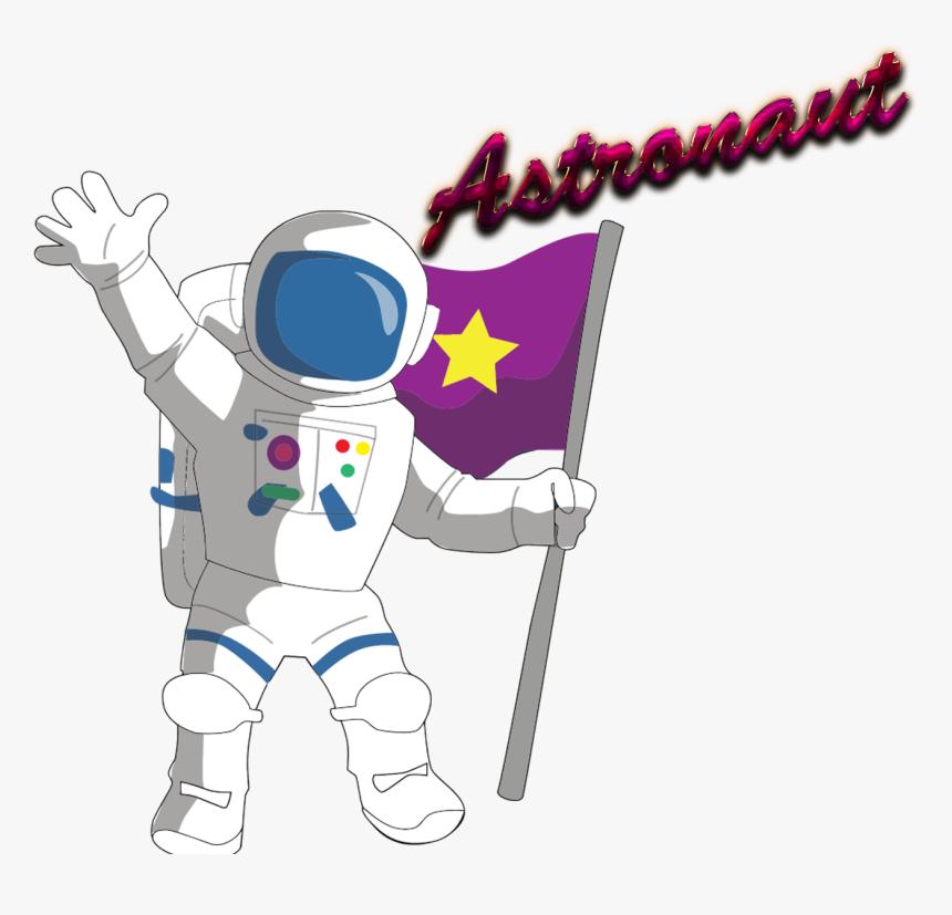 Transparent Astronaut Clipart For Kids.