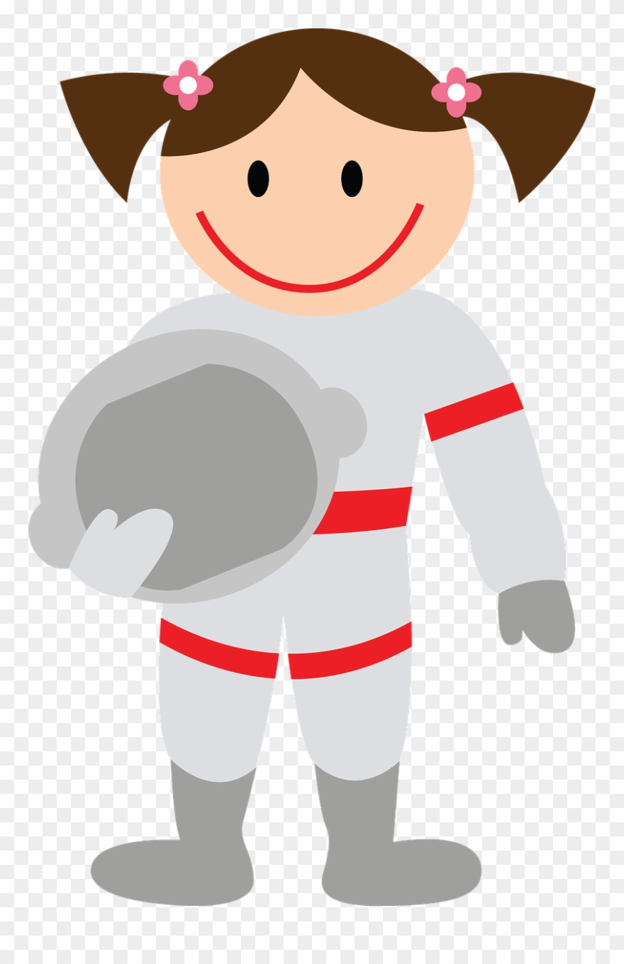 Astronaut Girl Png Clipart (#760530).