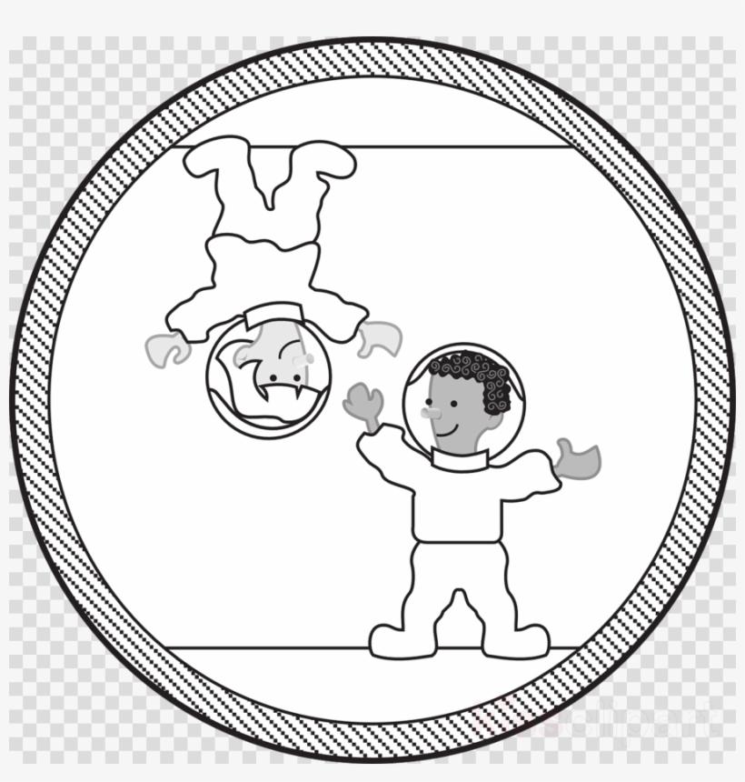 Astronaut Clipart Gravity Astronaut Transparent PNG.