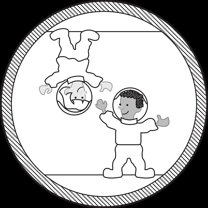 Astronaut Zero Gravity.