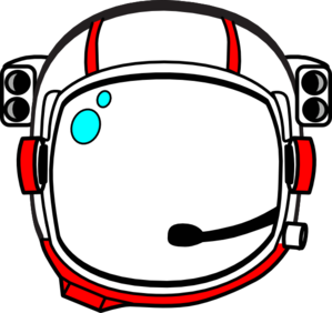 Red Astronaut Helmet Clip Art at Clker.com.