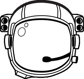 Astronaut S Helmet Clip Art at Clker.com.