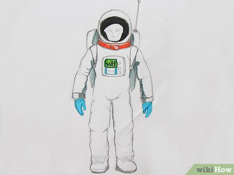 How to Draw an Astronaut (with Pictures).