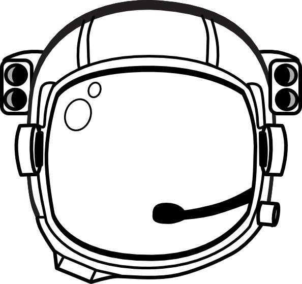 Astronaut S Helmet clip art Free vector in Open office.