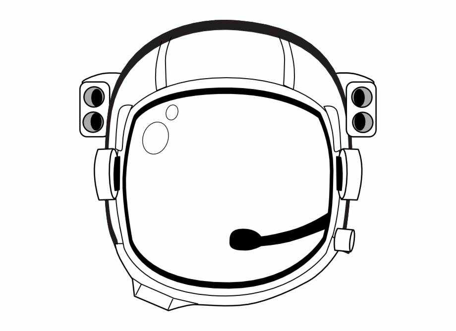 Astronaut Helmet Transparent Background, Transparent Png Download.