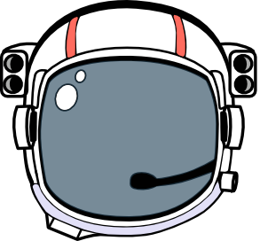 space helmet.