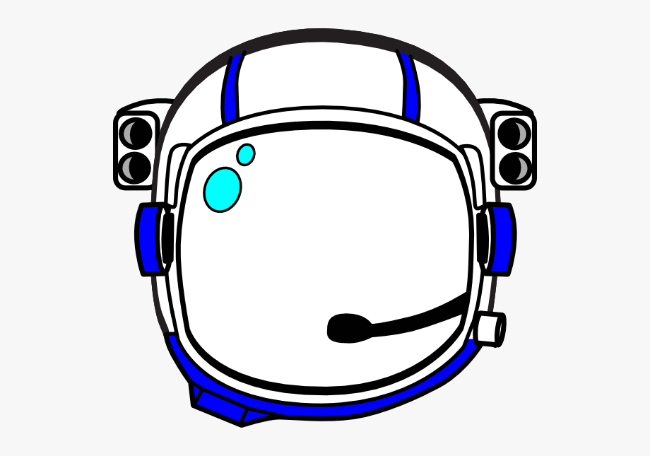 Cartoon Astronaut Helmet Png , Transparent Cartoon, Free.
