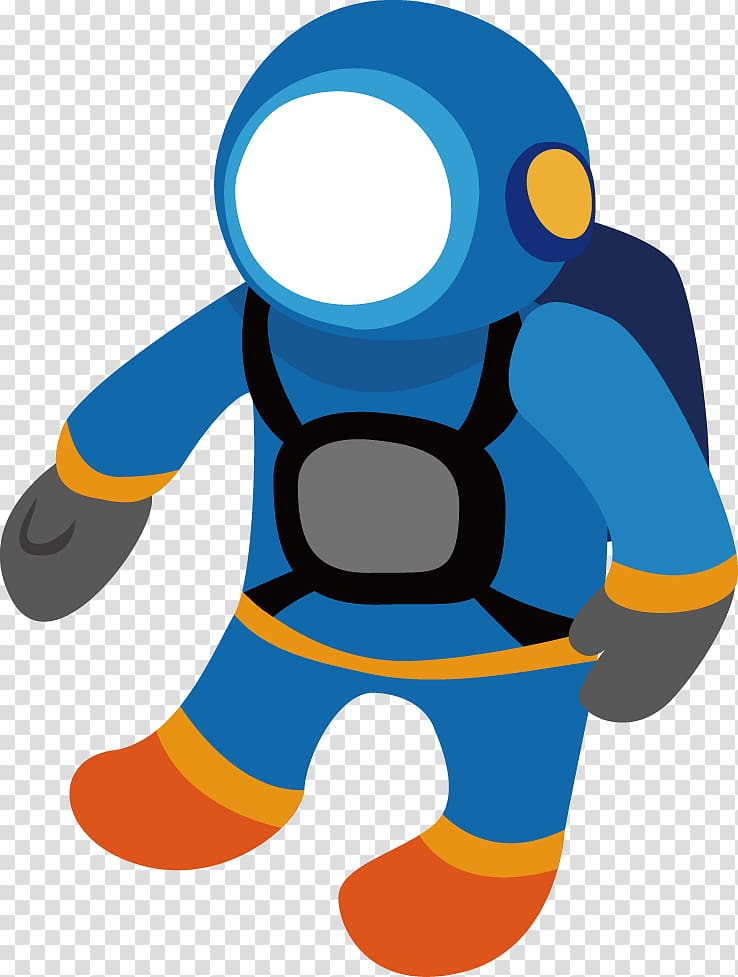 Drawing Outer space , PPT creative design icon astronaut.