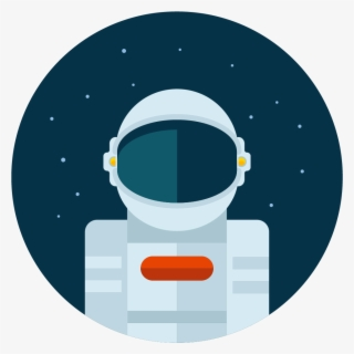 Free Floating Astronaut Clip Art with No Background.