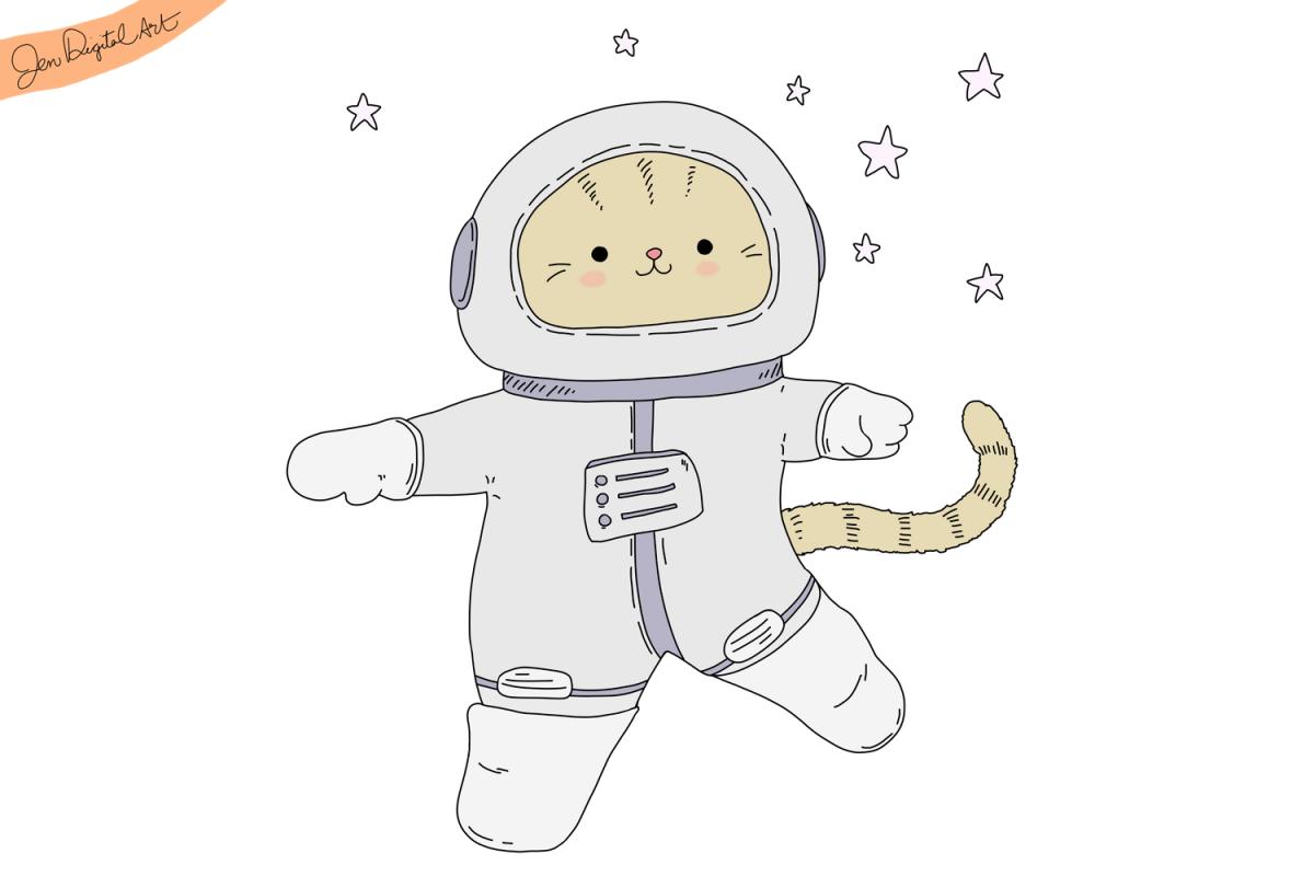 Astronaut Cat.