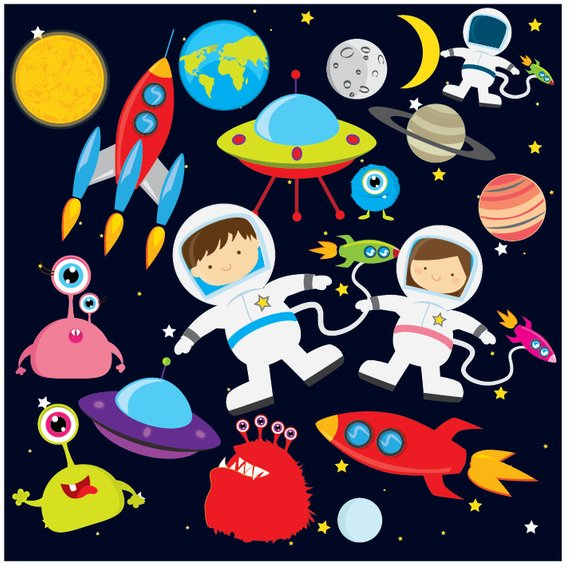 Space clipart.
