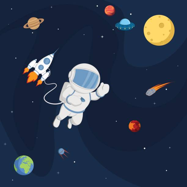 Space Background Clipart.