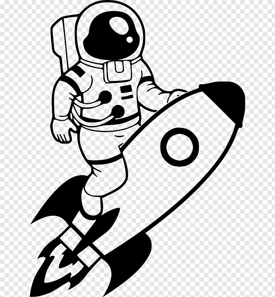 Spaceman Jetpack Astronaut cutout PNG & clipart images.