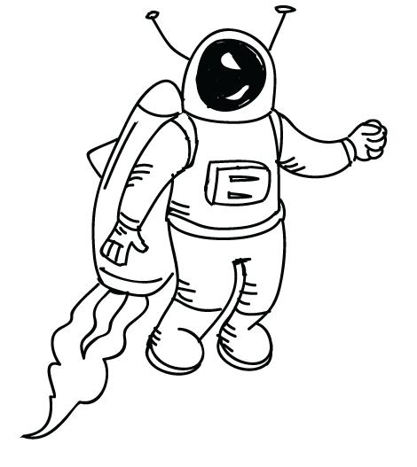 Space Man Doodle.