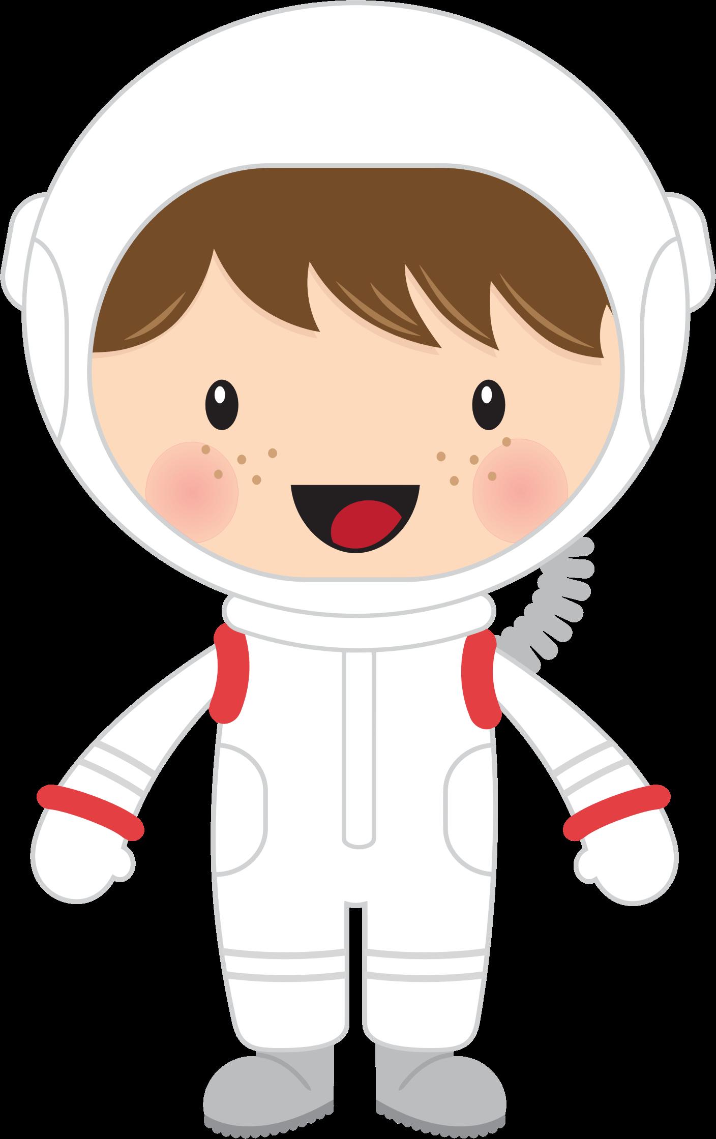 Kid Astronaut Clipart.