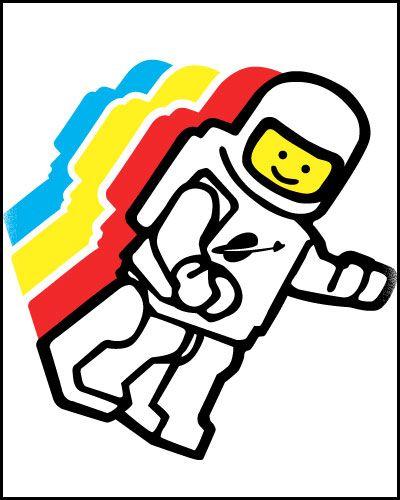 lego spaceman.