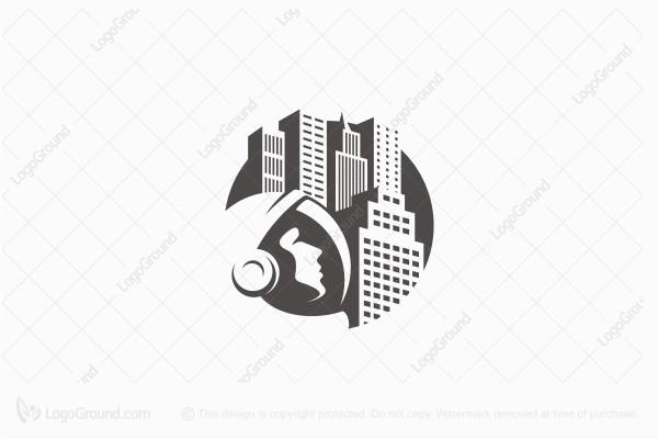 Exclusive Logo 96022, Urban Astronaut Logo.