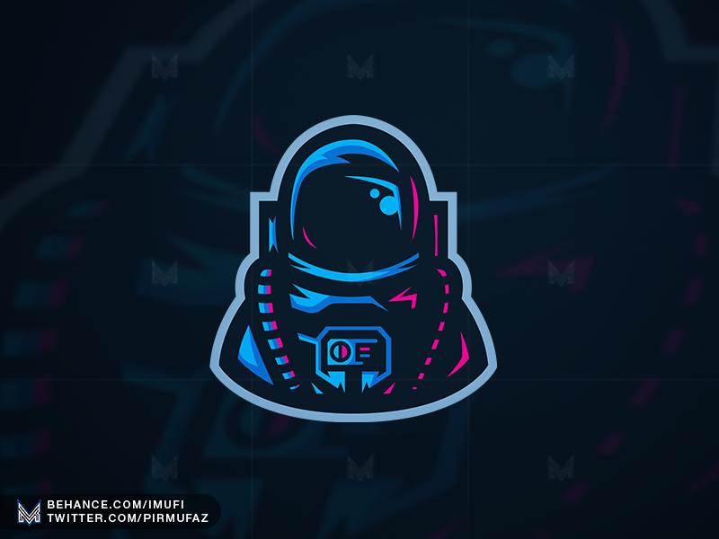Astronaut Mascot Logo by iMufi on Dribbble.