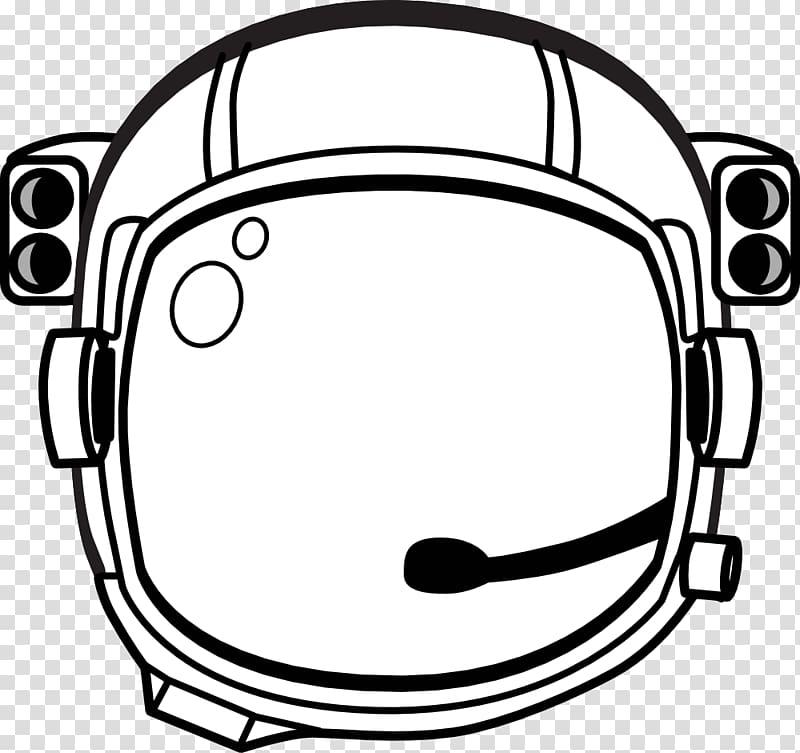 Astronaut Drawing , Public Domain Line Art transparent.