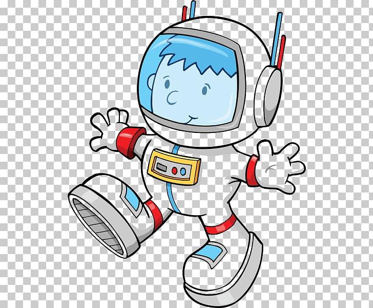 Cartoon Astronaut , Cartoon astronauts PNG clipart.
