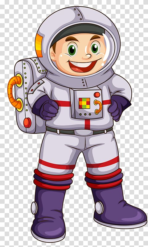 Astronaut Space Extraterrestrial life , Happy astronaut.