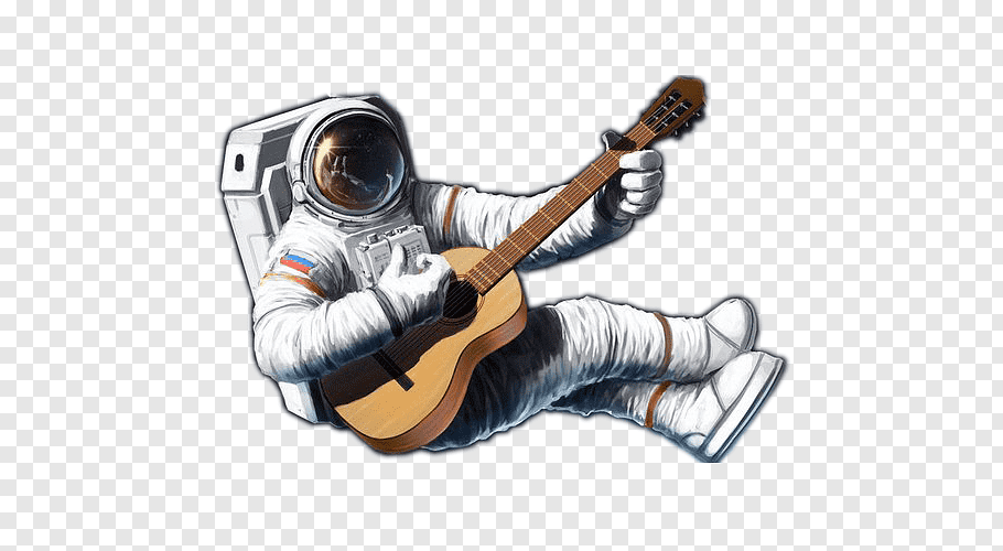 Astronaut playing guitar, Astronaut Outer space, Astronaut.