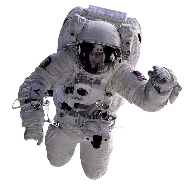 Astronaut png by DistrictAliens on DeviantArt.