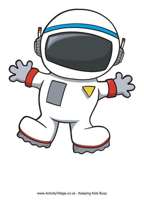 Astronaut photo frame.