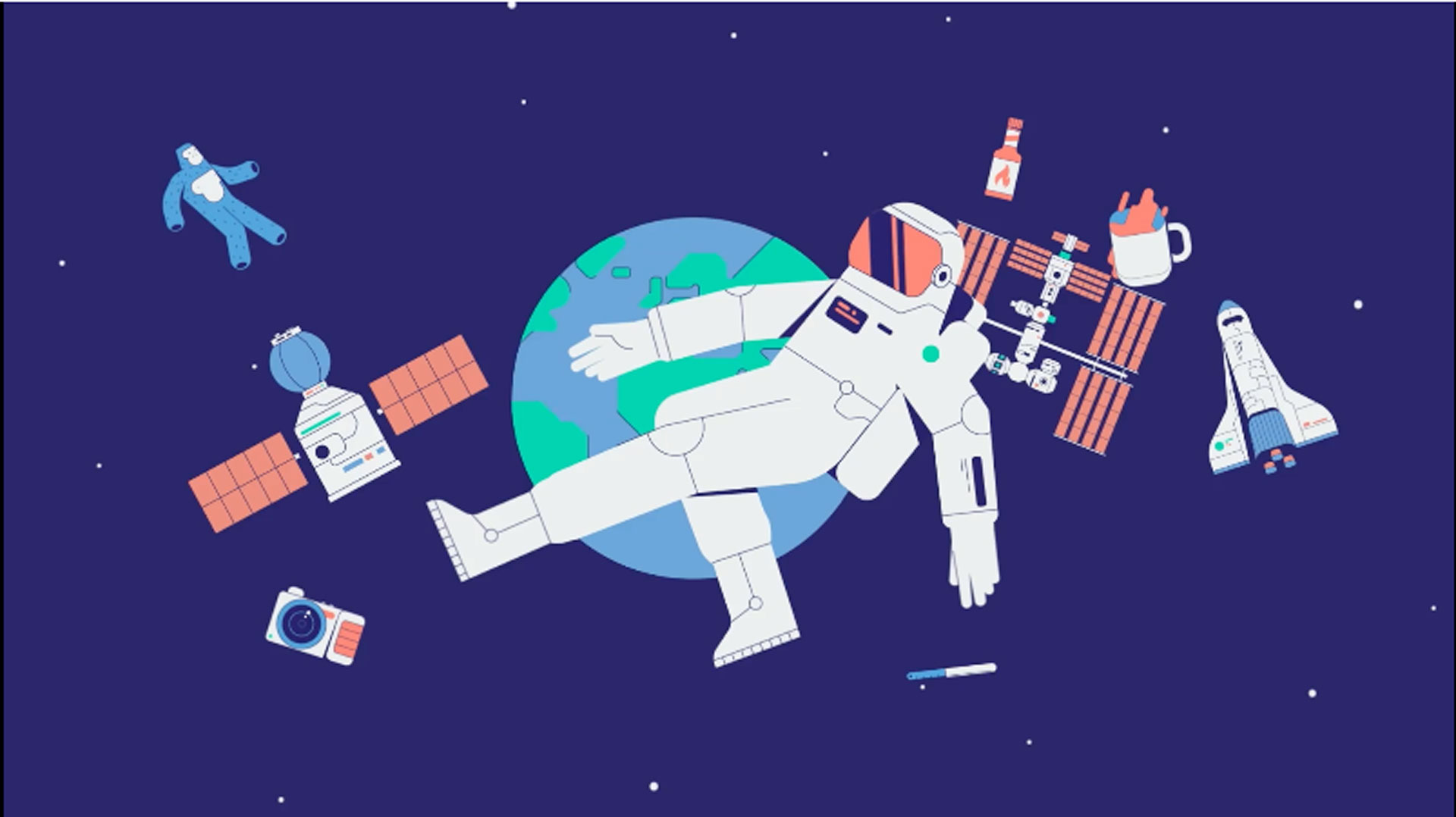 Life in space: Stories from 50 astronauts in their own words.