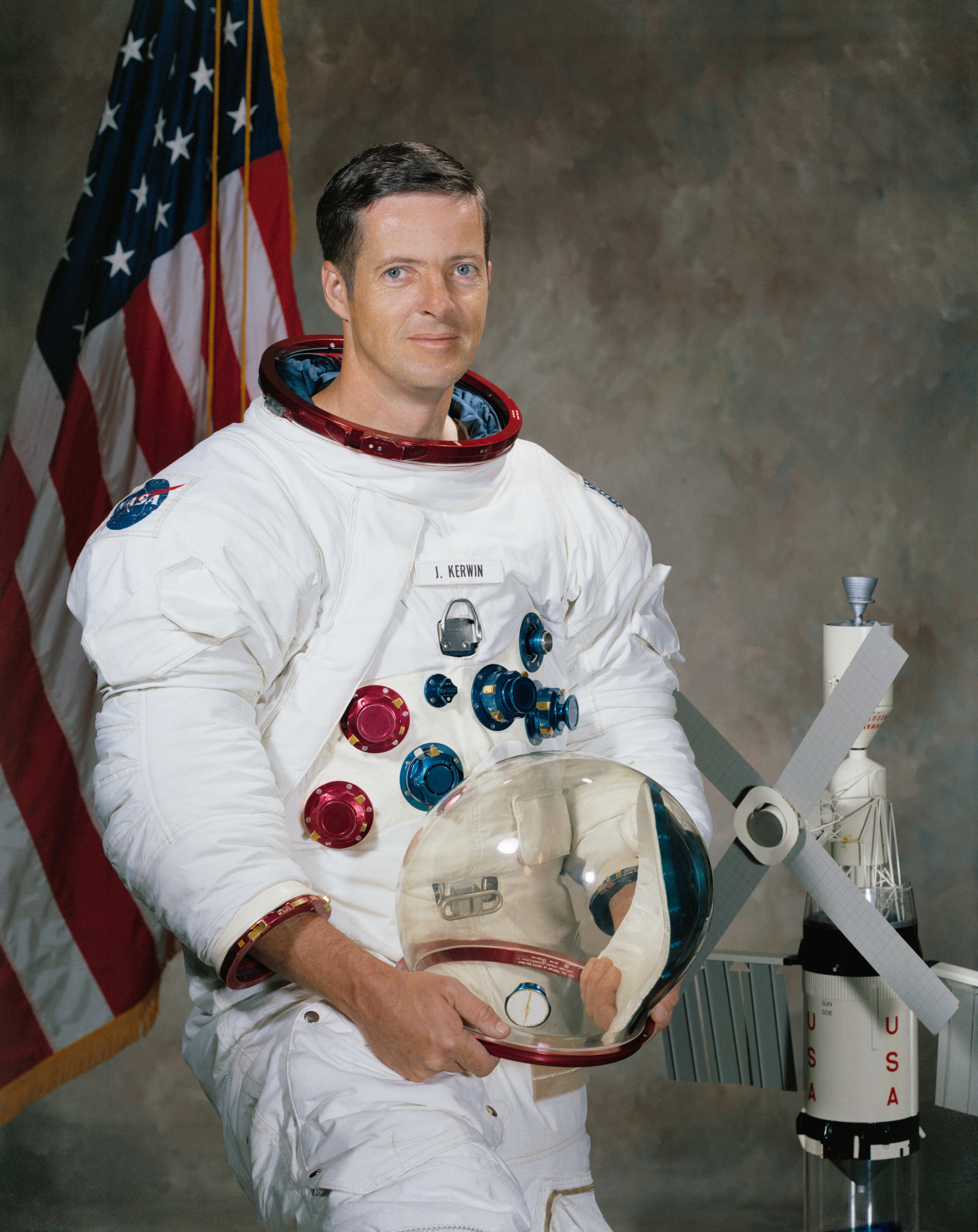 Astronaut portrait vertical.