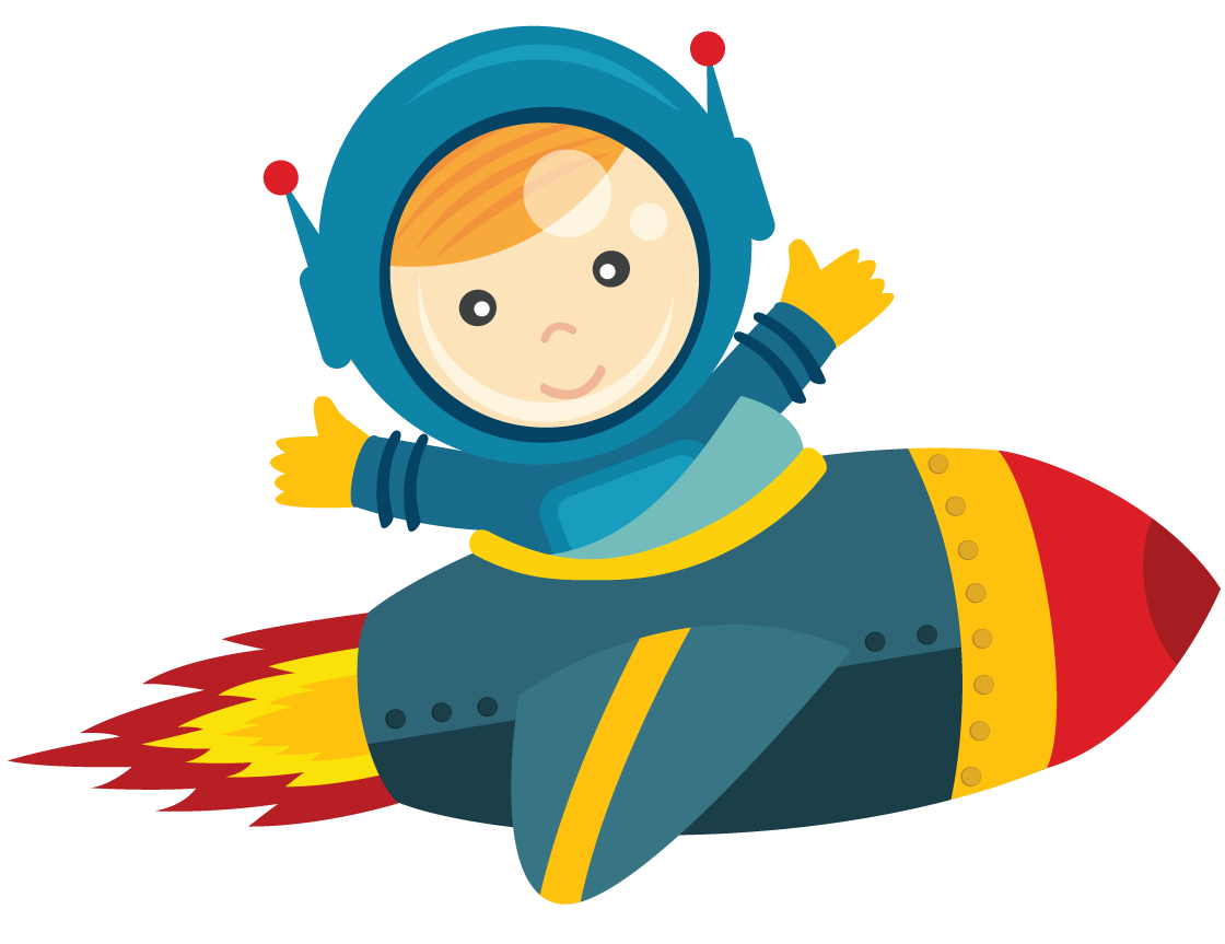 Baby Astronaut Clipart.