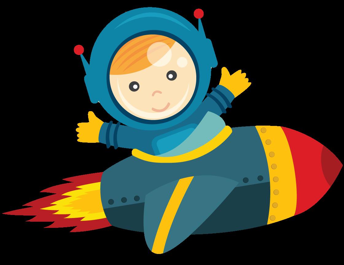 Baby Astronaut Clipart.