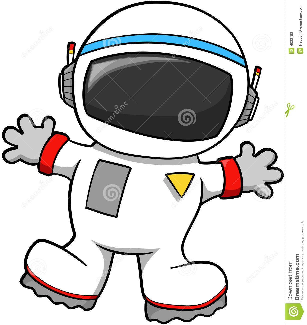 Cute Astronaut Clipart.