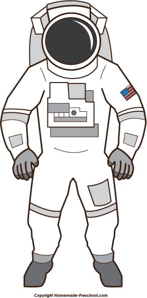 Space suit clipart.