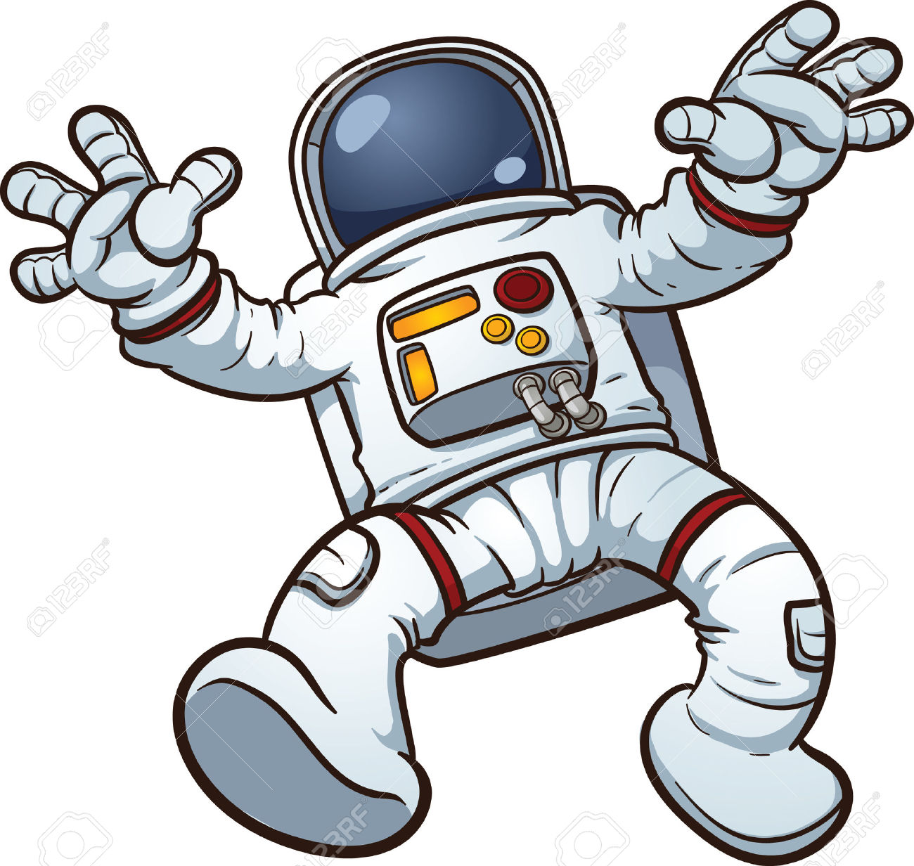 Space suit clipart - Clipground
