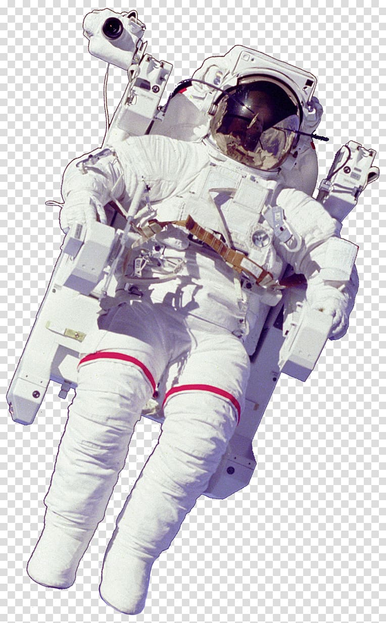 Astronaut Space suit Outer space , astronaut transparent.