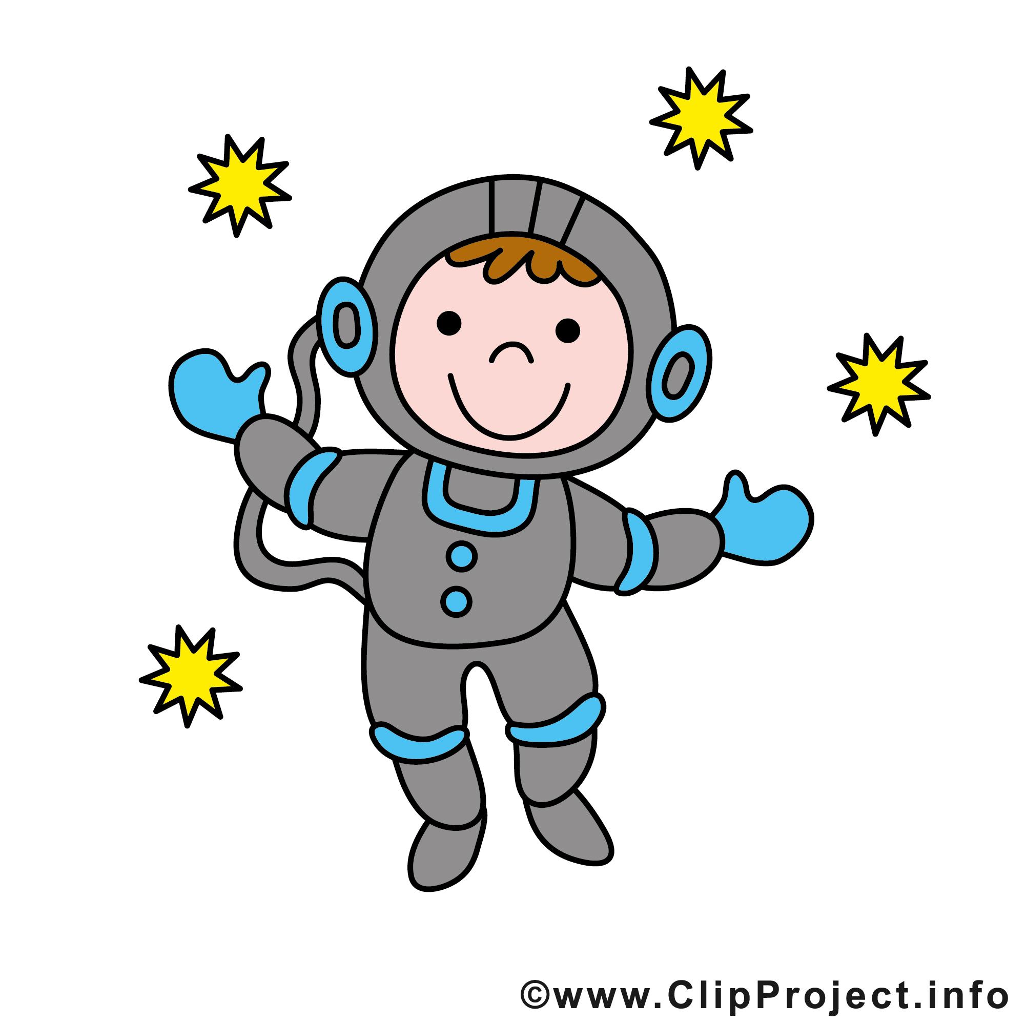 Cartoon Astronaut Clipart.