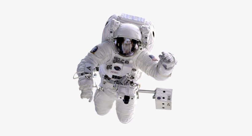Space Station Clip Art, Cosmonaut In Outer Space Clip.
