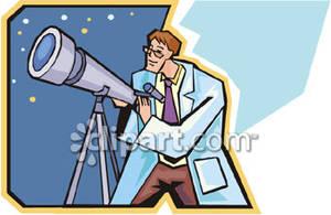 Astronomer Clip Art.