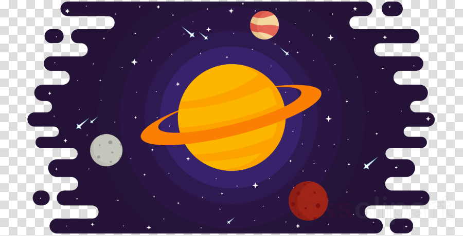 text yellow font astronomical object space clipart.