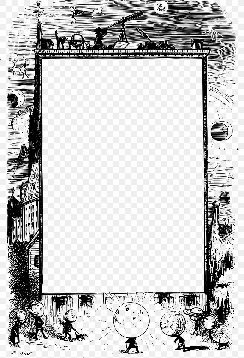 Picture Frames Borders And Frames Astronomy Clip Art, PNG.