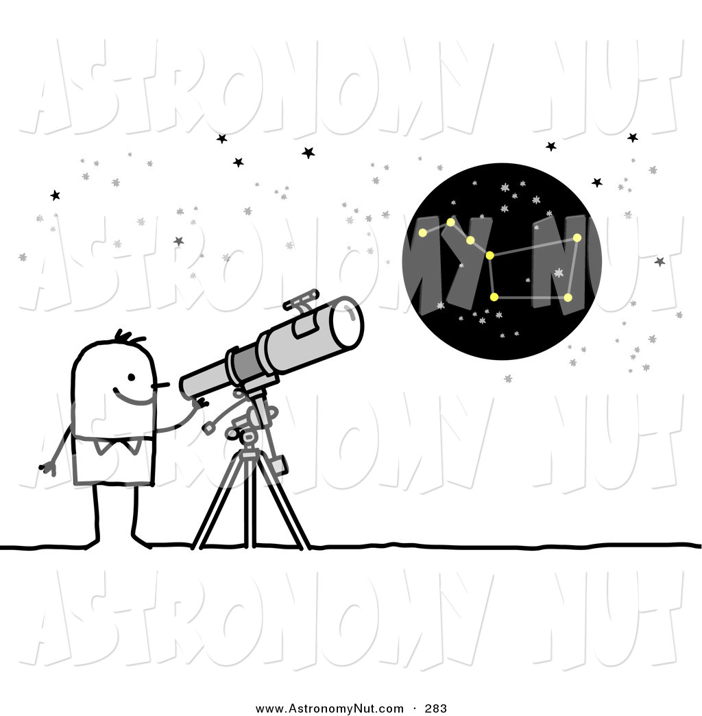 Astronomy Clipart Page 1.