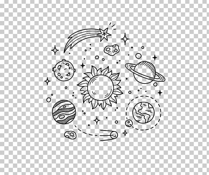 Earth Doodle Outer Space Drawing Planet PNG, Clipart, Angle, Area.