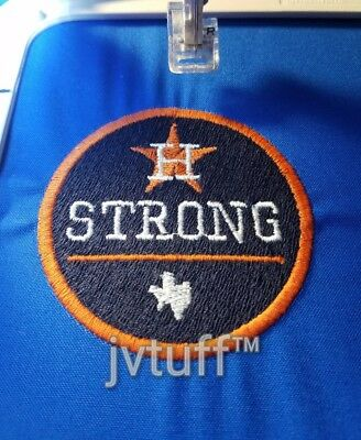 MLB 2017 HOUSTON Strong Jersey Patch Astros Iron / Sew On.