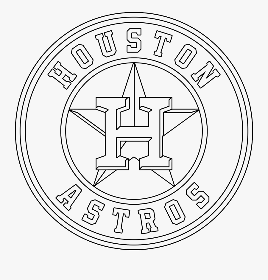 Houston Drawing Black And White.
